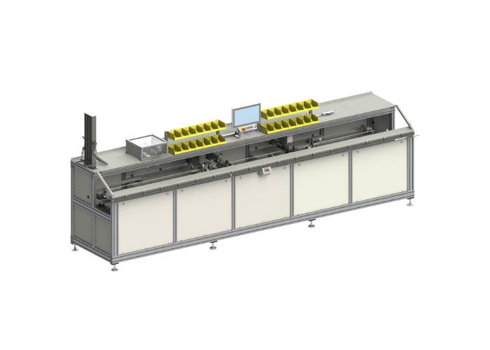 Maschinenanbindung für Plissee Fädeleinheit PTM